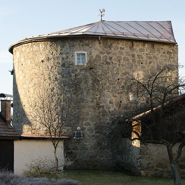 Der Weihermühlturm in Freistadt