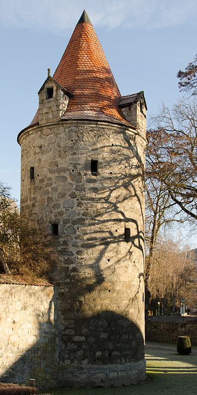 Der Dechanthofturm in Freistadt