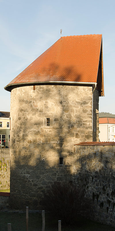 Der Bürgerkorpsturm in Freistadt