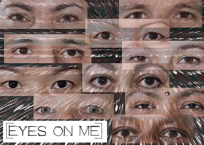 eyes on me / TOPICS / Antonia Zimmermann / Fotogcollage