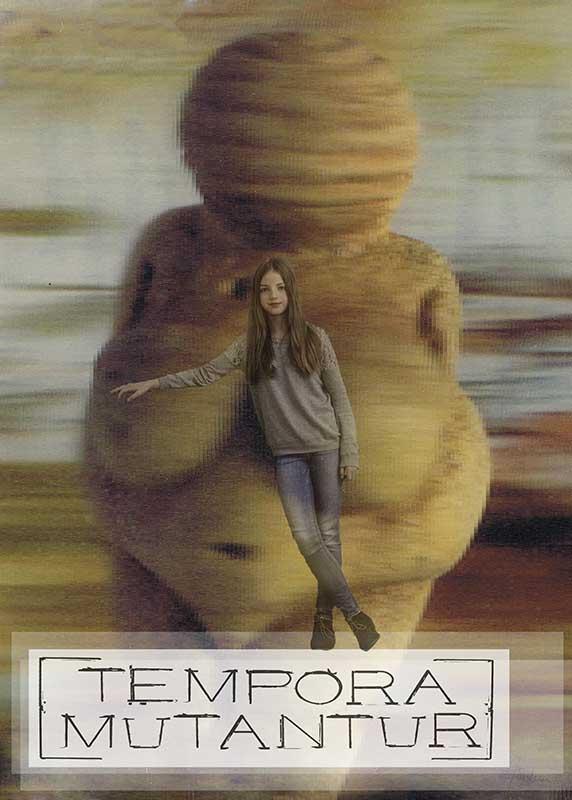 tempora mutantur / TOPICS / Antonia Zimmermann / Fotogcollage