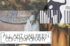 all art has been contemporary / TOPICS / Antonia Zimmermann / Fotogcollage