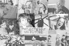 projects are my future / TOPICS / Antonia Zimmermann / Fotogcollage