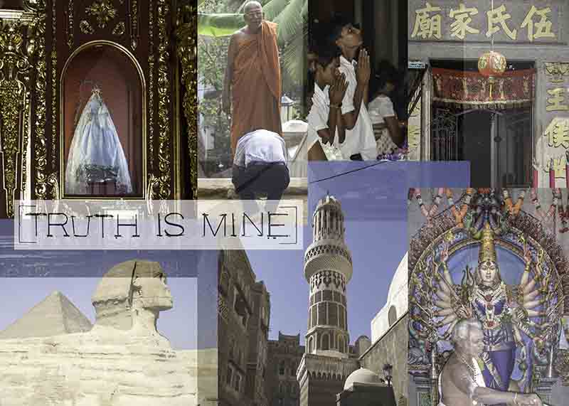 truth is mine / TOPICS / Antonia Zimmermann / Fotogcollage