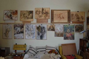 Wassil Dimow Atelier 2015