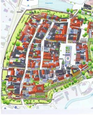 Freistadt Stadtplan