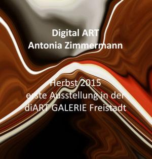 Buch zur Ausstellung ART DIGITAL von Antonia Zimmermann in der diART GALERIE Freistadt