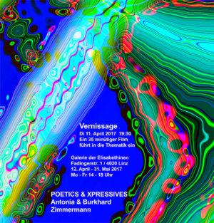Buch zur Ausstellung Poetics & XPressives von Antonia &Burkhard Zimmermann