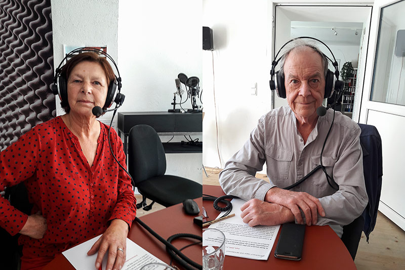 Antonia & Burkhard Zimmermann im Freien Radio Freistadt