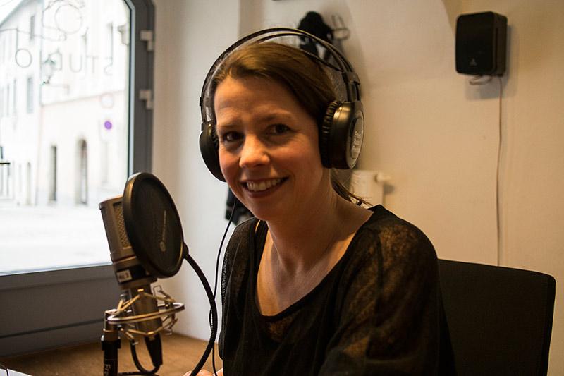 Evelyn Kreinecker im Freien Radio Freistadt